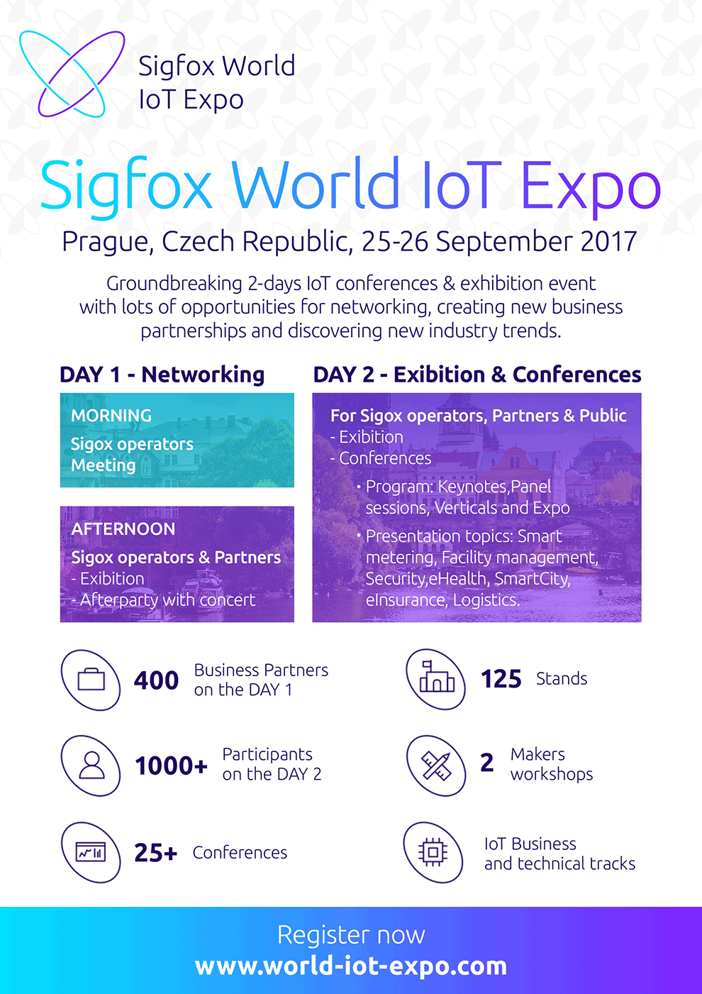 Sigfox World IoT Expo Sept 25 26